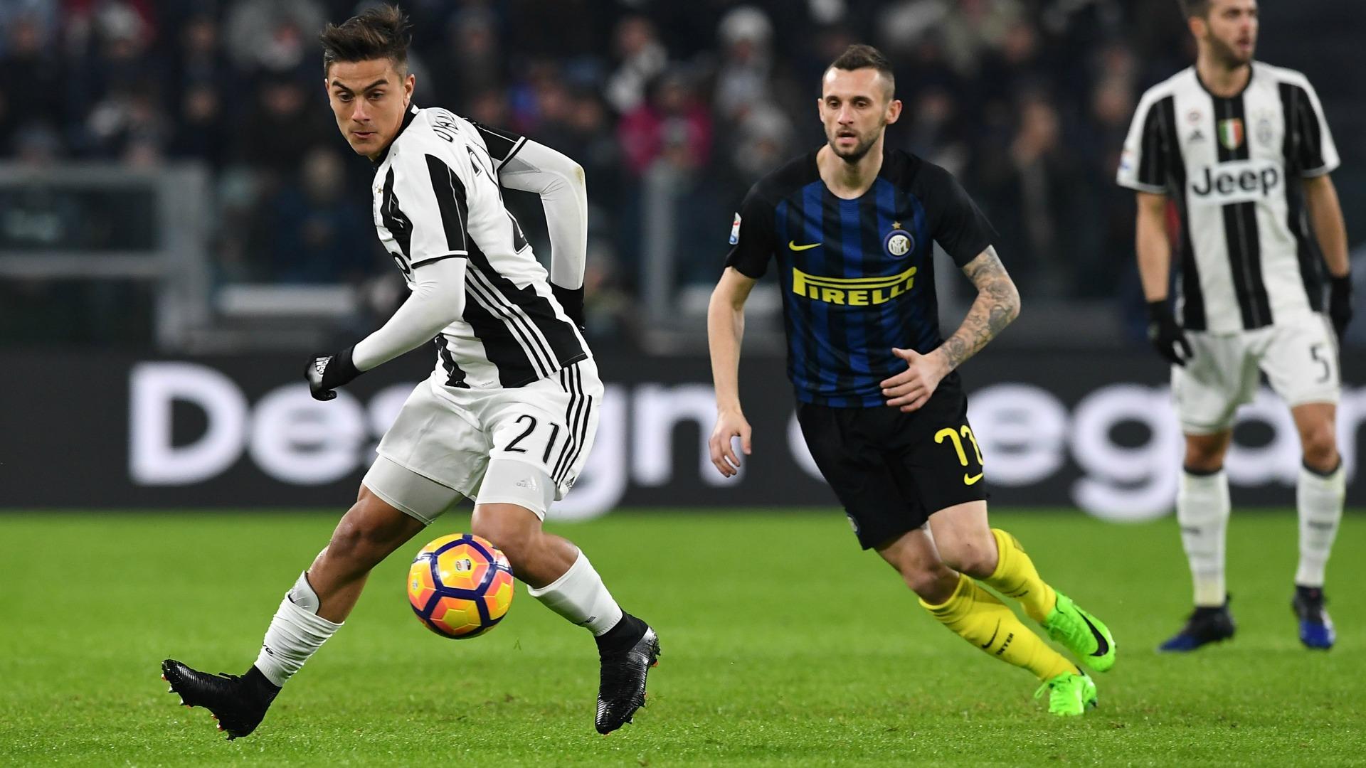 Paulo Dybala Marcelo Brozovic Juventus Inter