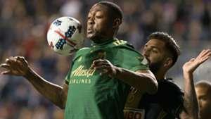 Fanendo Adi Richie Marquez Portland Timbers vs. Philadelphia Union MLS