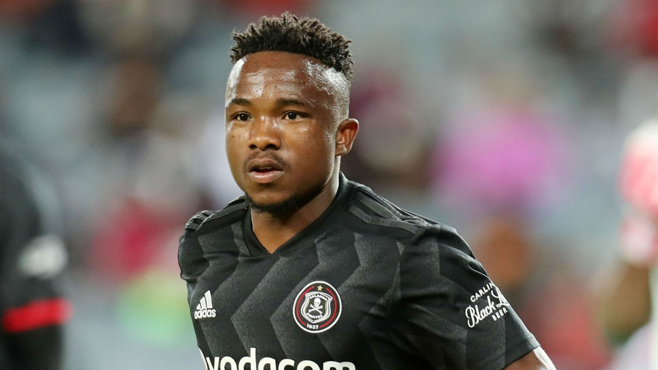 Paseka Mako, Orlando Pirates, September 2018