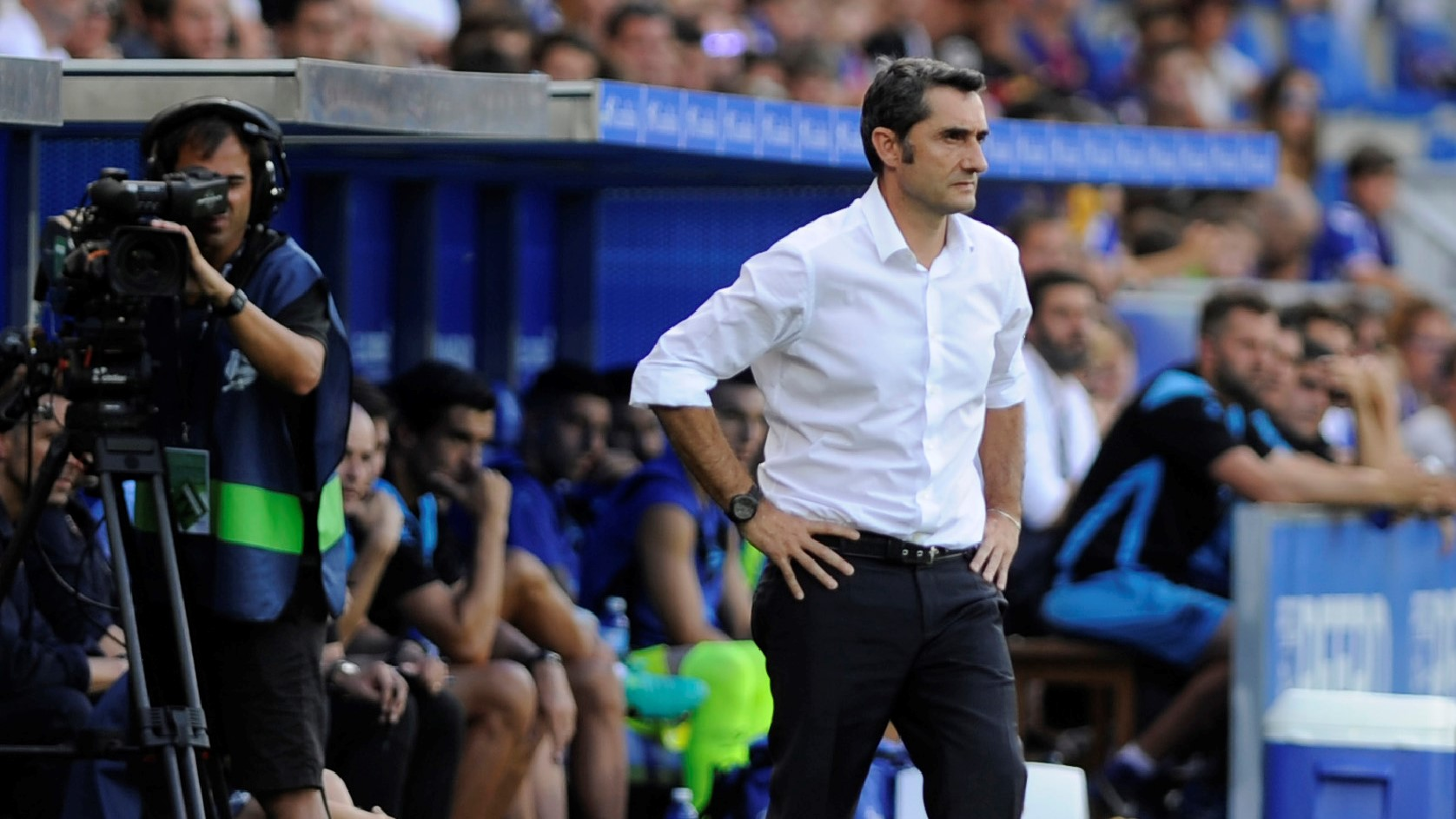 Ernesto Valverde Alavés Barcelona LaLiga 26082017