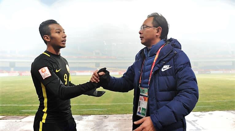 Adam Nor Azlin, Ong Kim Swee, Malaysia U23, 16012018