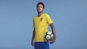 Brasil Camiseta Titular 2018 Brazil Home Kit