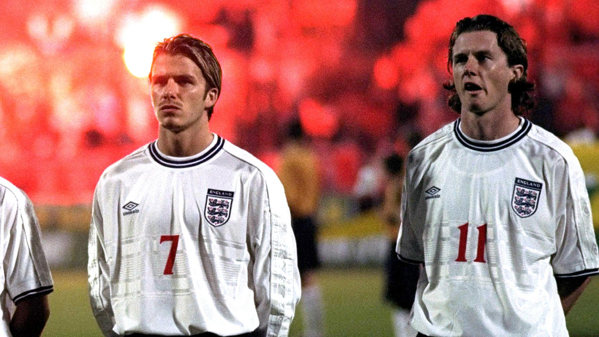 David Beckham Steve McManaman England