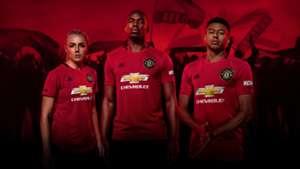 La nueva indumentaria del United.
