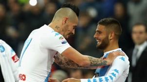 Hamsik Insigne Napoli Inter