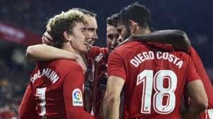 Atletico Madrid Griezmann Diego Costa 25022018