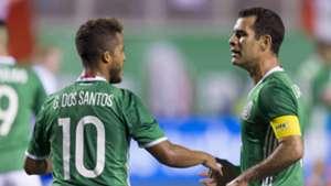 Giovani dos Santos Rafa Marquez Mexico