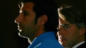Luis Figo Roberto Mancini