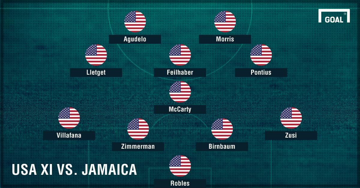USA XI vs. Jamaica GFX