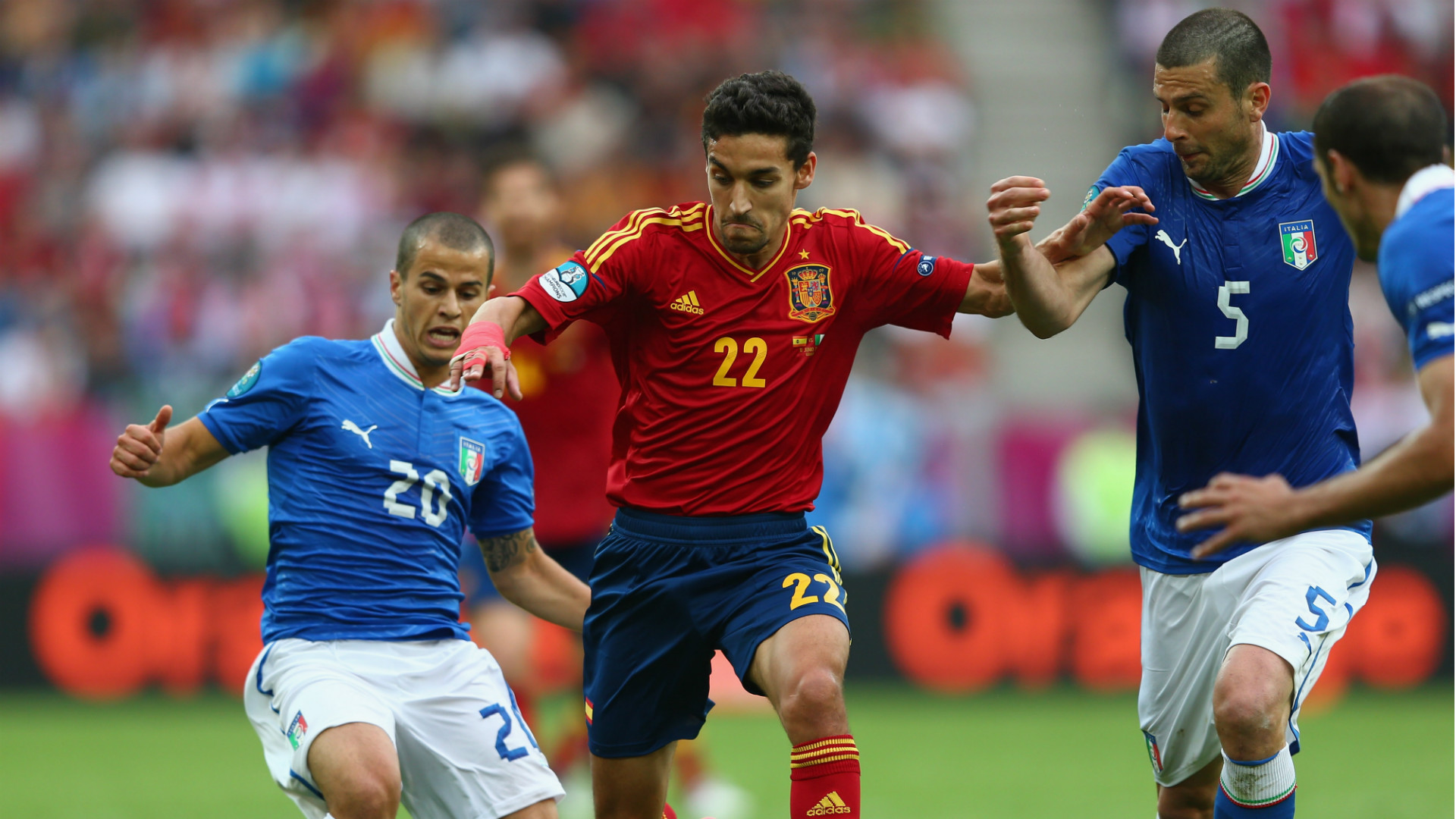 Spain Italy Euro 2012