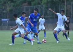 Irfan Zakaria, Malaysia U22, friendly match 13062017