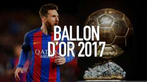 Lionel Messi Ballon d'Or 2017