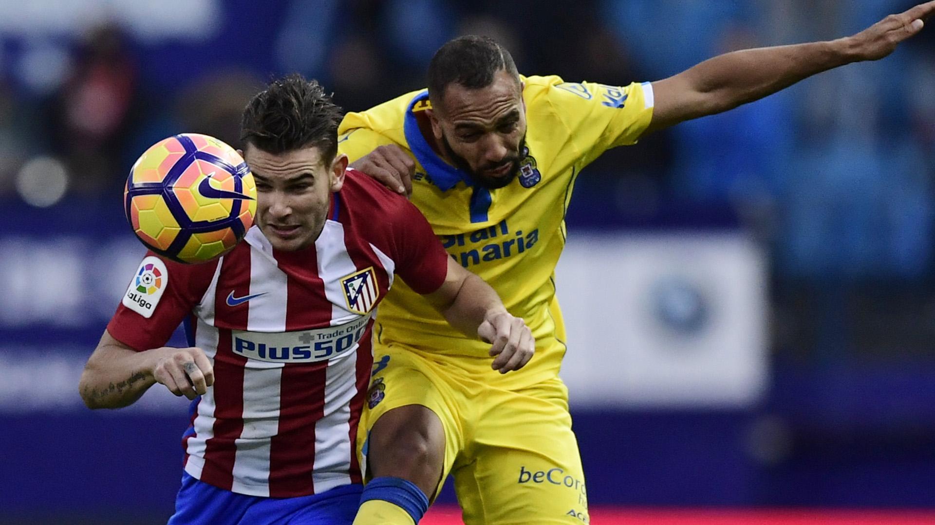 Michel Lucas Hernandez Atletico Madrid Las Palmas 10012017