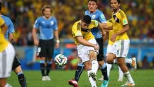 James Rodriguez Colombia Uruguay FIFA World Cup Brazil 2014