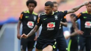Dani Alves Brazil Selecao treino 03092017