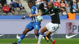 Salomon Kalou Naldo Hertha BSC Schalke 04 17102017