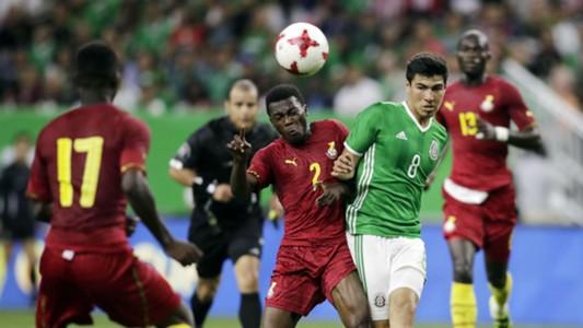 Erik Gutierrez Thomas Agyepong Mexico vs. Ghana international friendly