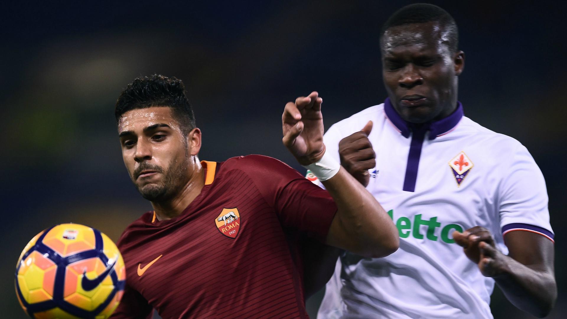 Emerson Palmieri Khouma Babacar Roma Fiorentina 07022017
