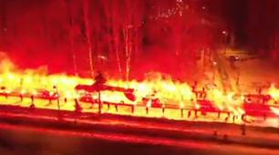 Zenit Fenerbahce Pyro Europa League