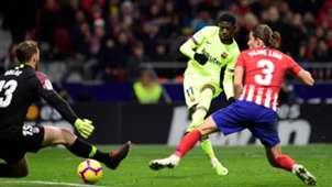 Ousmane Dembele Barcelona Atletico Madrid 241118