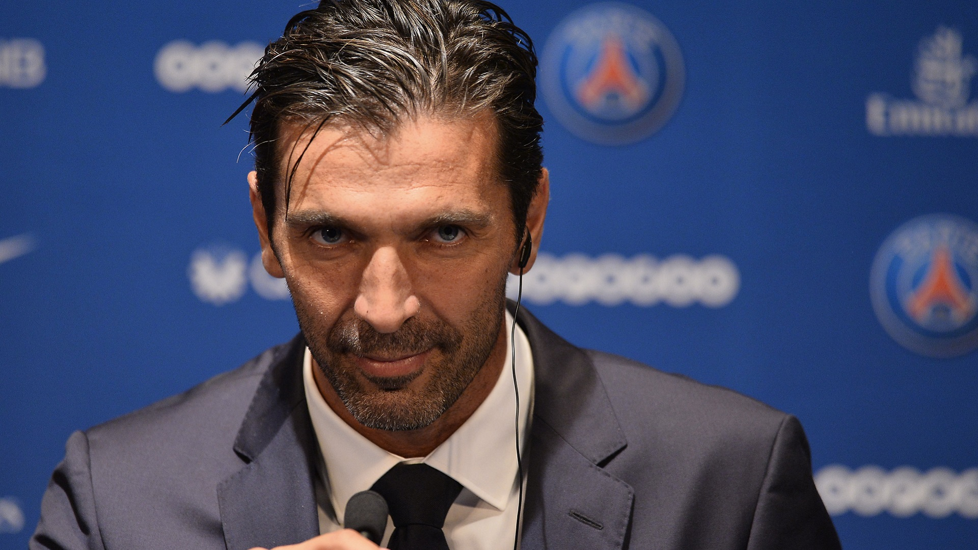 Gianluigi Buffon encaisse son premier but avec le PSG