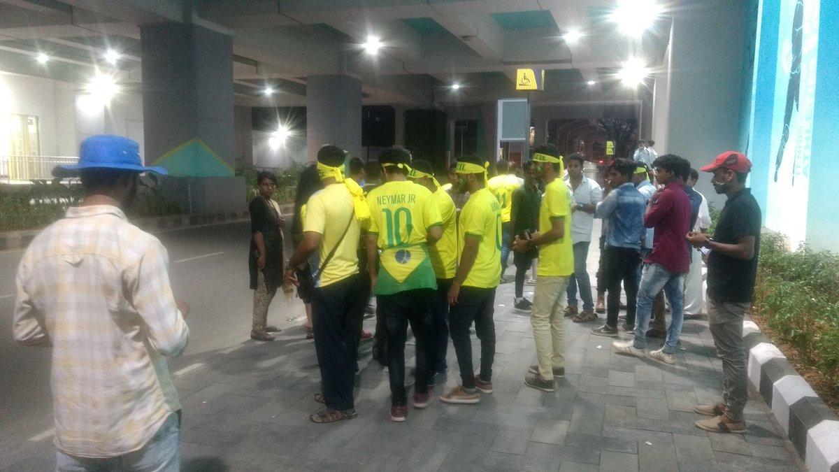 Brazil support Kochi