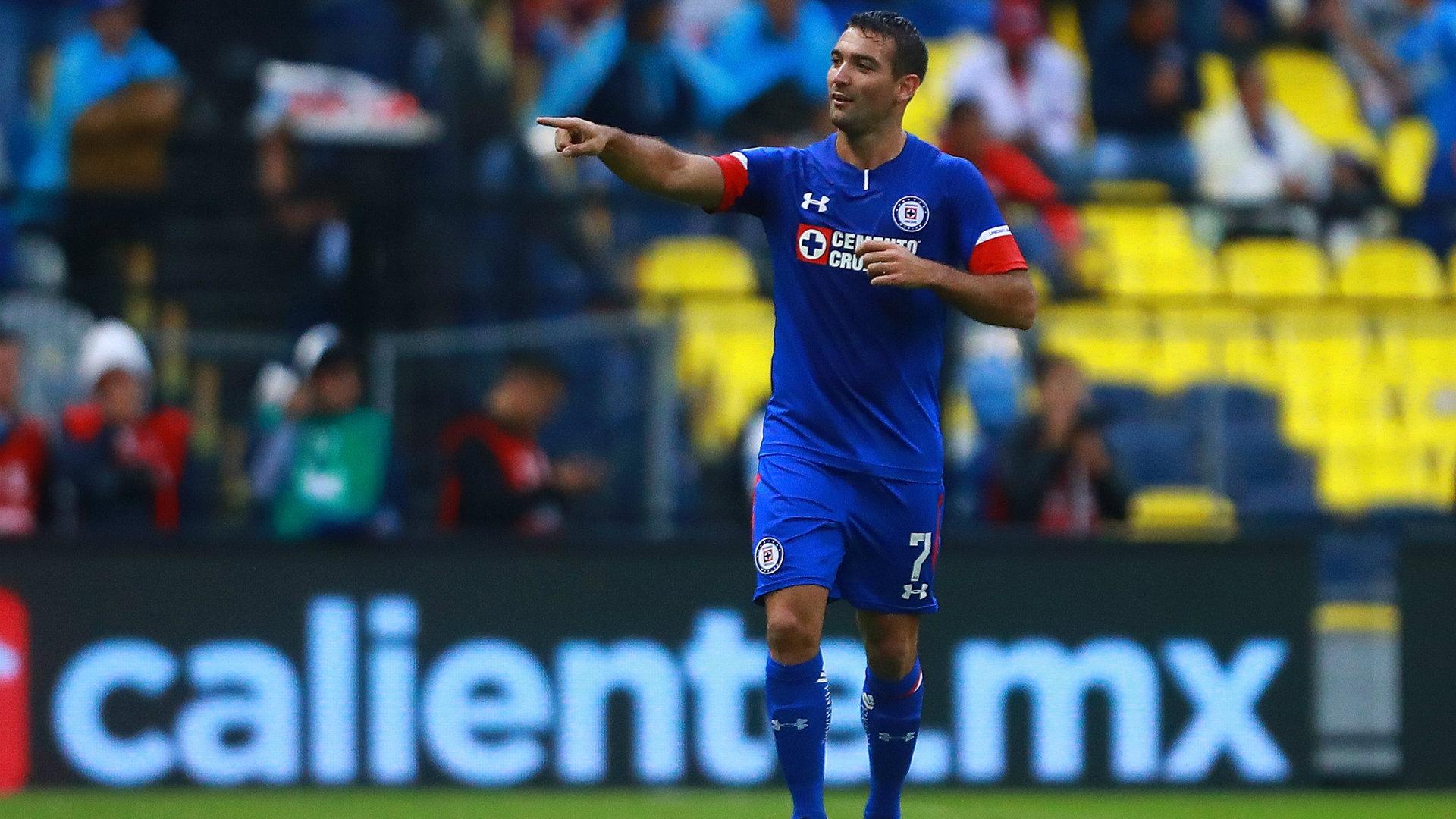 Martín Cauteruccio Liga MX Cruz Azul Apertura 2018