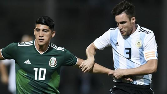 Alan Pulido Mexico Nicolas Tagliafico Argentina