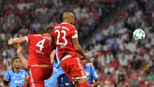 Arturo Vidal Niklas Süle Bayern Bayer Leverkusen 180817