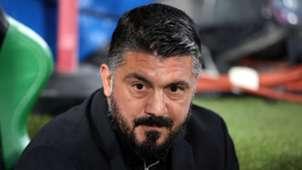 Gattuso - Sassuolo Milan