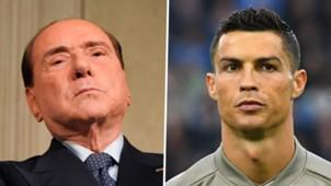 Silvio Berlusconi Cristiano Ronaldo