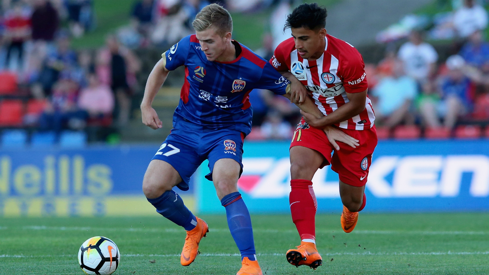 Riley McGree Newcastle Jets