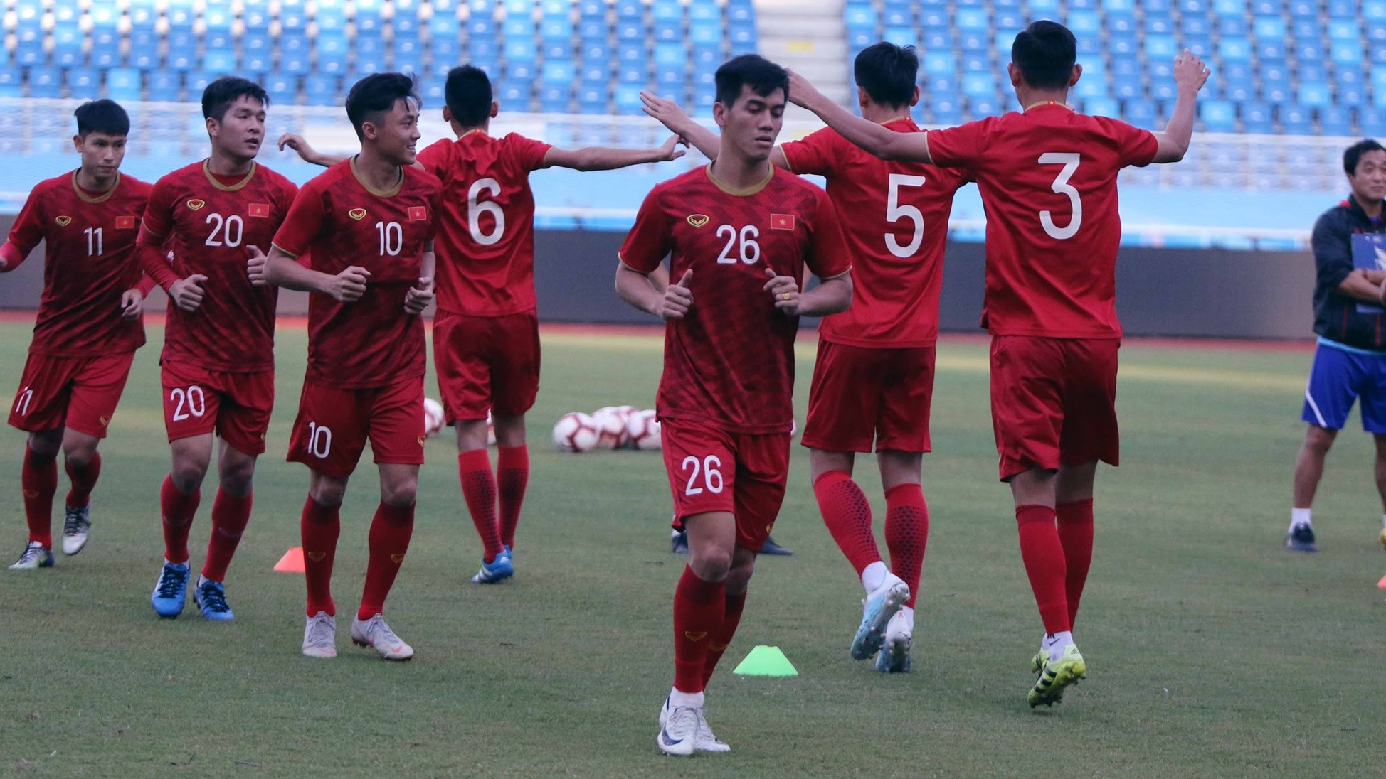 U22 Vietnam vs U22 China Friendly Match