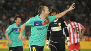 Andres Iniesta Barcelona Almeria 11212010