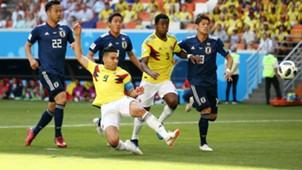 Falcao Colombia vs Japon WC Russia 2018 19062018