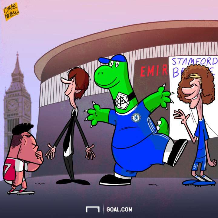 Cartoon - Alexis and Chelsea