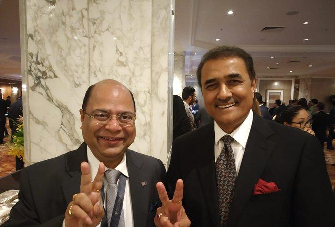 Subrata Dutta & Praful Patel