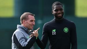 Brendan Rodgers Odsonne Edouard Celtic