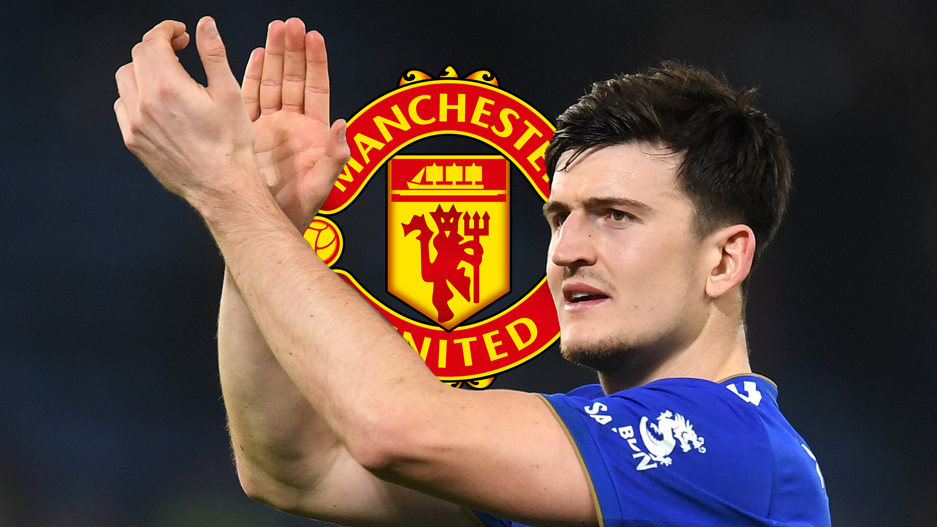 Harry Maguire, Man Utd logo