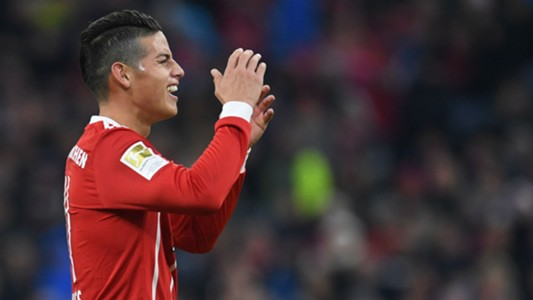 James Rodriguez Bayern Munich Bundesliga