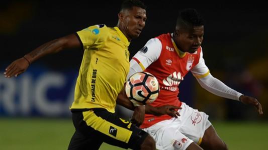Independiente Santa Fe vs Fuerza Amarilla Copa Sudamericana 25072017