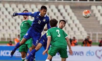 Iraq 2-2 Thailand Mongkol Tossakrai Yen