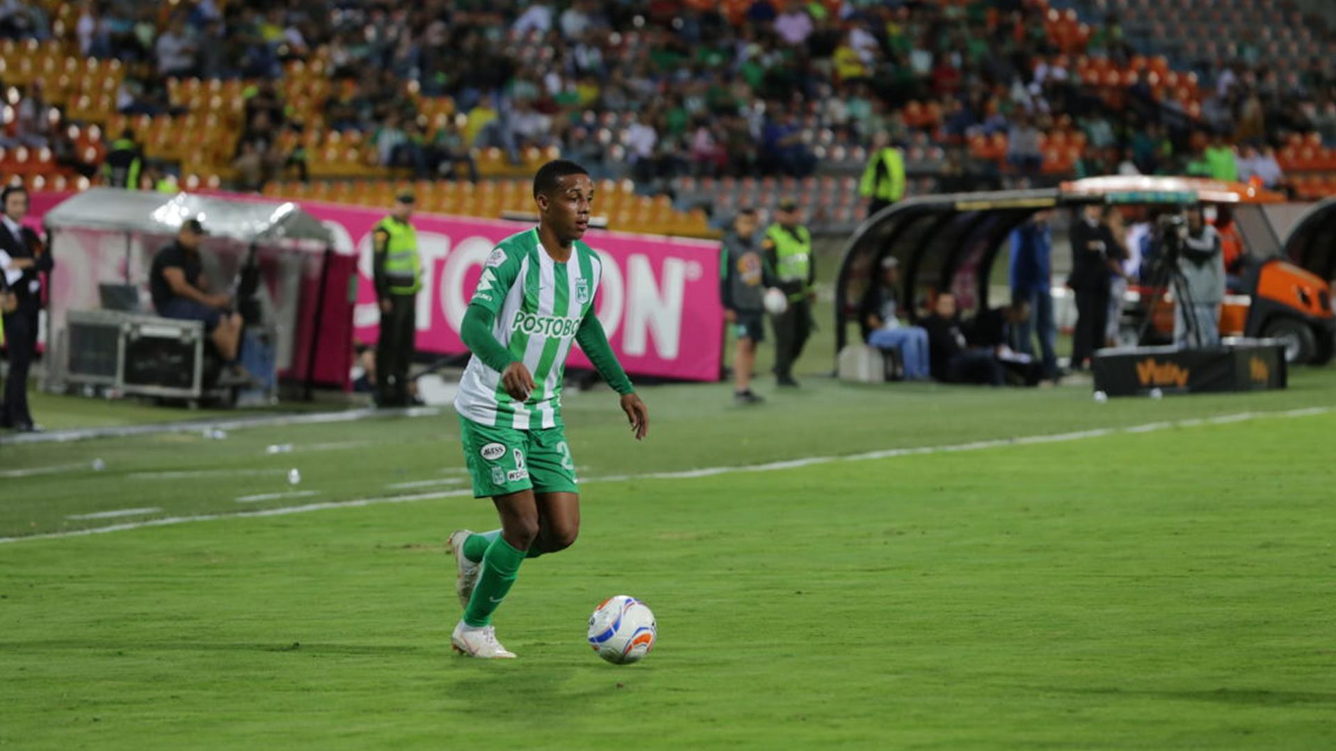 Jeison Lucumí Atlético Nacional Liga Águila 2018