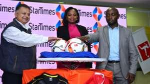 StarTimes officials.