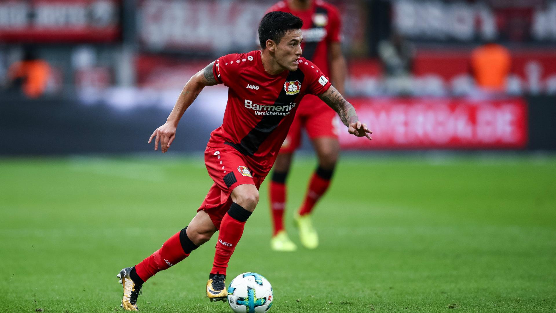 Charles Aránguiz Bayer Leverkusen
