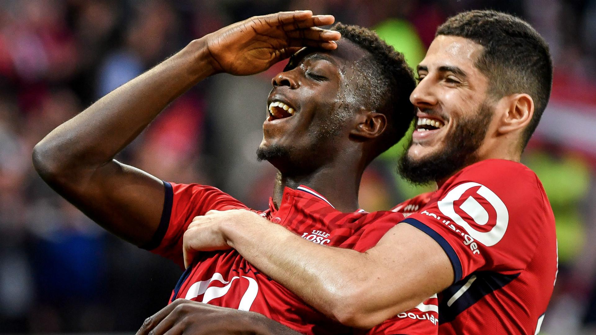 Nicolas Pepe Lille 2018 -19