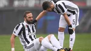 Higuain ko Torino Juventus