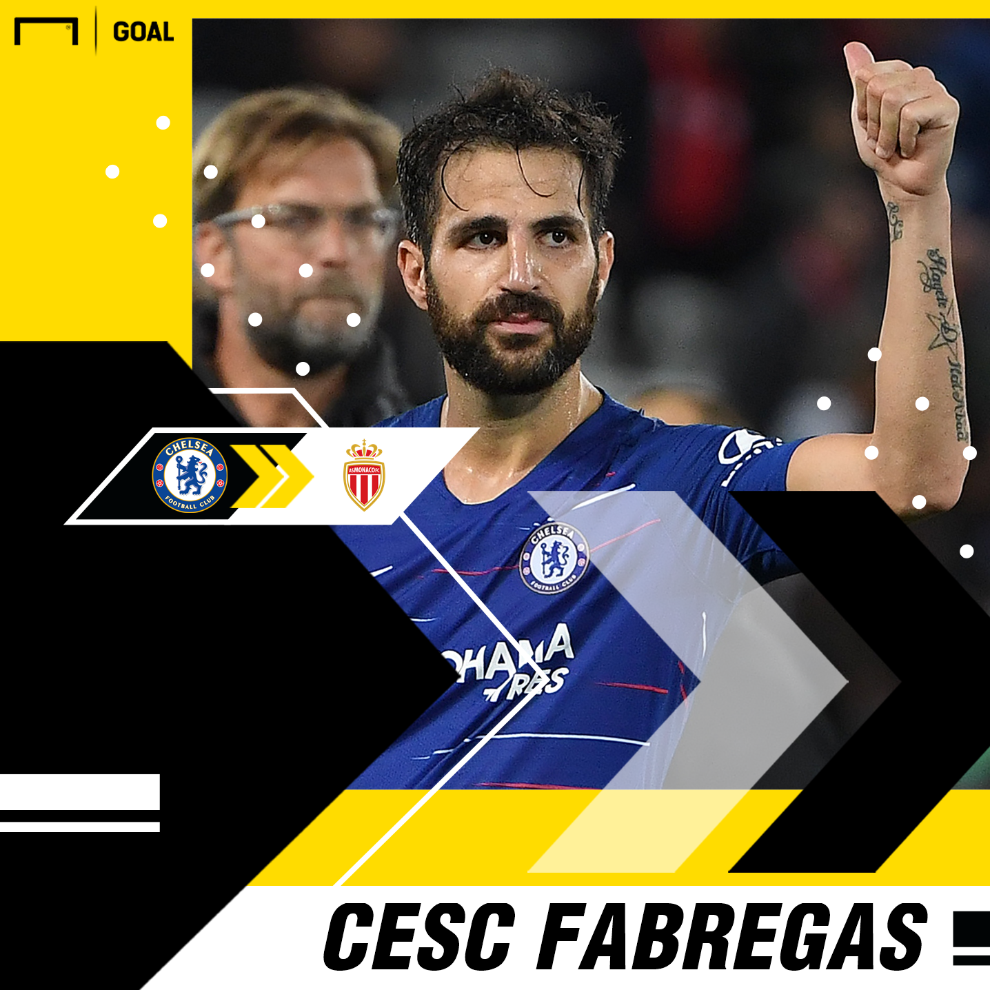 AS Monaco complete signing of Spanish midfielder Cesc Fabregas from Chelsea