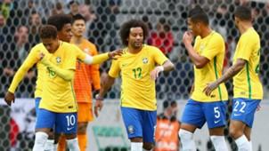 Marcelo Neymar Casemiro I Brasil Japão I 10 11 17