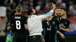 Invasão Real Madrid Bayern Champions League 25 04 2018